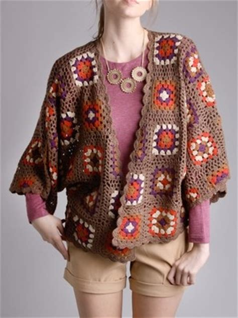 tutorial rajut sweater granny square cardigan i wouldn t pair it with the