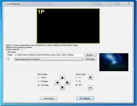xp setup multiple websites manage multi monitor setup with dual monitor tools windows 7