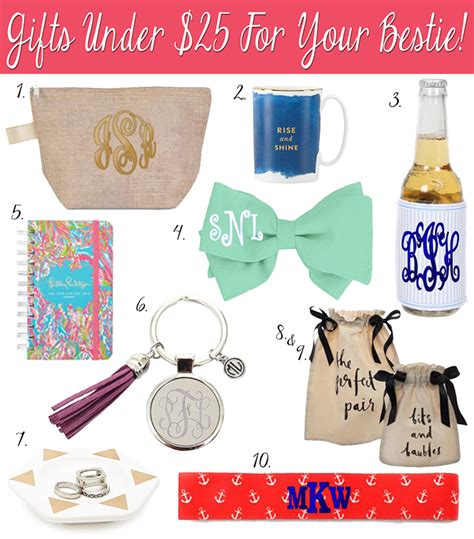 Top 7 Gifts For Your Bff marleylilly gift guide gifts for your bff 25