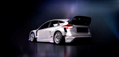Ken Block Ford Focus Specs by 2016 Ford Focus Rs Rallycross Car Confirmed Here Are The