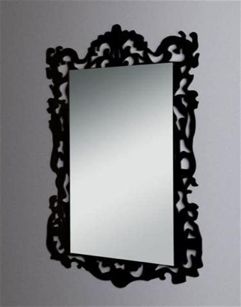 cornici plexiglass specchio con cornice in plexiglas nero vetrina s p
