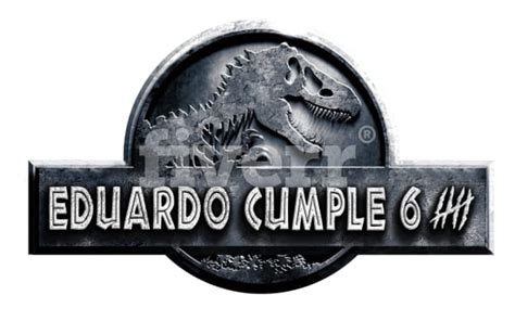 Your Name Or Text put your text or your name on jurassic world logo by firasezz