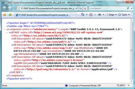 xml metadata tutorial download free edit xmp metadata in pdf backupoh