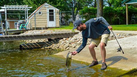 bank fishing hot spots  fall bass