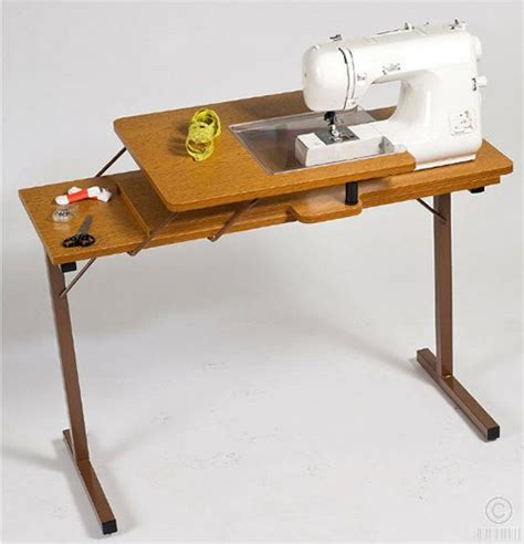 Folding Sewing Machine Table Split Level Home Designs Sewing Machine Table