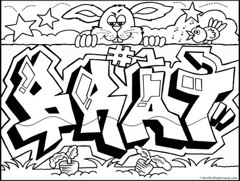 graffiti art coloring page graffiti coloring book quot because y s a crooked letter quot by