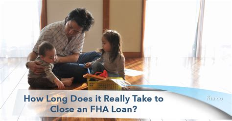 how long does it take to close on a house 2018 how long does it really take to close an fha loan fha co