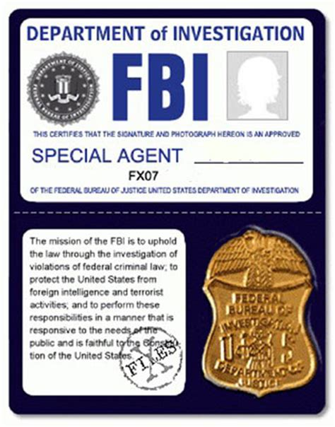 fbi证件 图片 互动百科