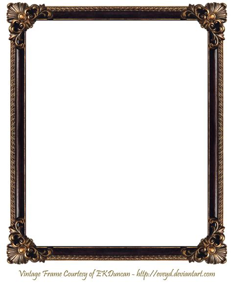 frame for pictures elaborate wood frame 3 by ekduncan by eveyd on deviantart