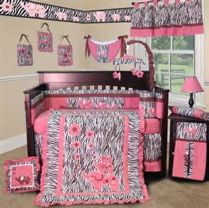 Custom Baby Bedding Boutique Baby Boom I Zebra Crib Bumper Pink Babitha Baby World