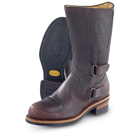 boots review s chippewa 174 bison rally boots briar brown 33244