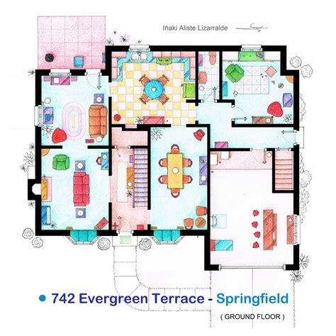 simpsons house floor plan i 241 aki aliste lizarralde