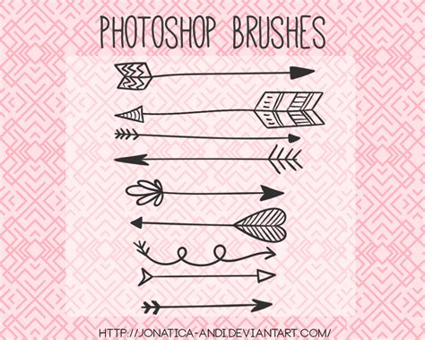 arrow pattern brush photoshop 9 arrow brushes photoshop brushes