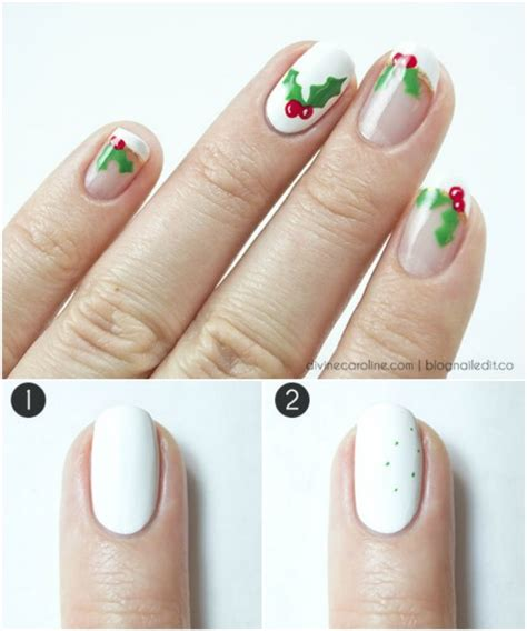 For A Properly Festive Vibe Get Nails And A Mysterious Smokey Eye From The By Terry Collection Fashiontribes by 20 Fantastic Diy Nail Designs That Are