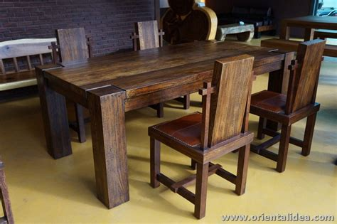 Dining Table Sets For 20 Teak Dining Table Set Tbg 20 Set 4 Buy Unique Dining Table Sets Product On Alibaba