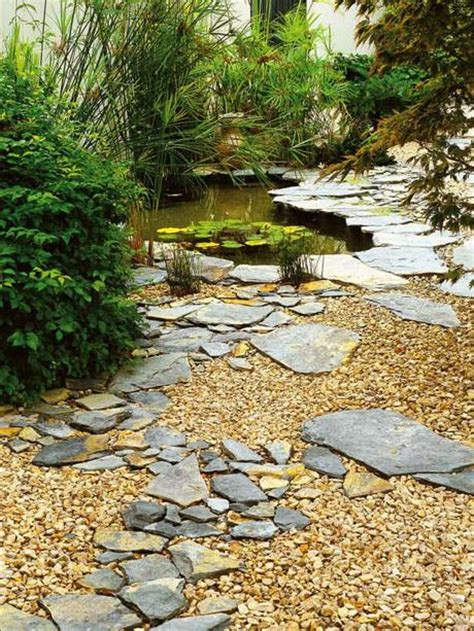 Landscaping With Rocks And Gravel Ideas On Landscaping With Gravel Rocks As A Ground Cover