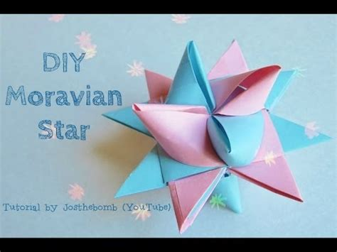 3d origami christmas star tutorial best cheap homemade ornaments and decorations for