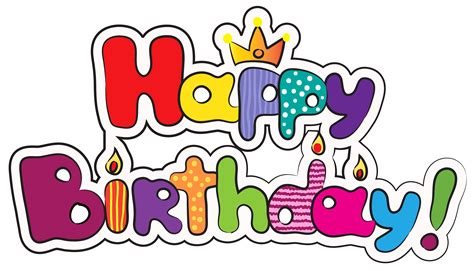 colorful happy birthday png clipart image gallery egrafis
