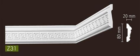 stuckleisten nmc nmc stuckleisten profilleiste wandleisten arstyl z31 80 x
