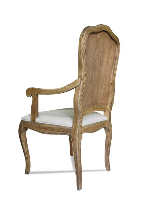 Provincial Chair by Provincial Furniture Oak Dining Arm Chair