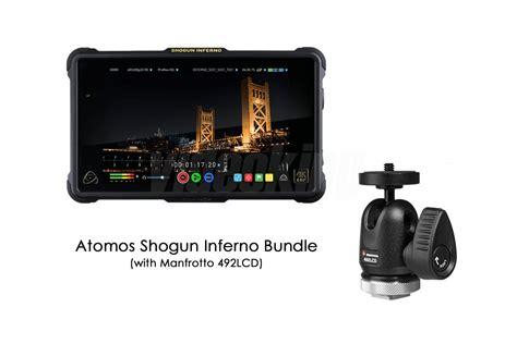 Atomos Shogun Inferno 7 4k Hdmi 12 Sdi Recording Monitor atomos shogun inferno 4k hdmi 12g sdi prores monitor recorder travel