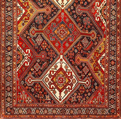 Burgondy Tribal Antique Persian Qashqai Rug At 1stdibs Tribal Rugs