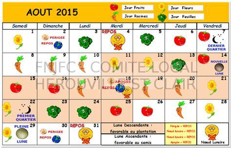 Calendrier Lunaire 2015 Juillet Calendrier Lunaire De Juin Juillet 2015 Jardiner Avec