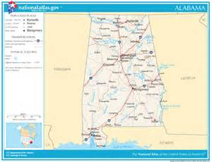 road map of alabama and alabama state map interstate highways 2017 2018 best