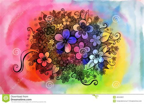 beautiful graphic design beautiful graphic drawing of flowers