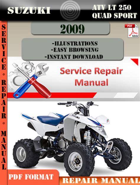 small engine repair manuals free download 2005 suzuki grand vitara navigation system suzuki atv lt 250 quad sport 2009 digital service manual downloa