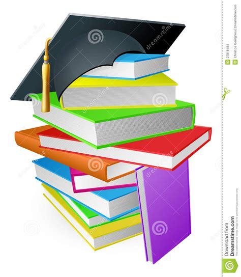 imagenes motivadoras educacion concepto del sombrero de la graduaci 243 n de la pila del