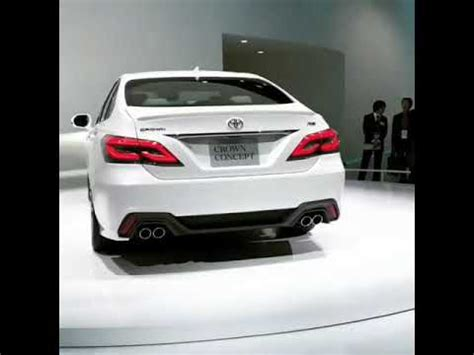 2019 toyota crown concept youtube