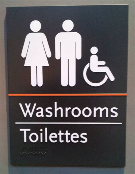 the non metric washrooms of canada