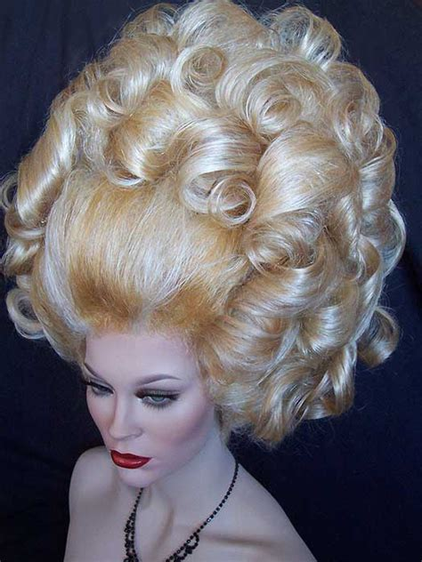 blonde hairstyles updo oversized frosted blonde rooted updo with large curls