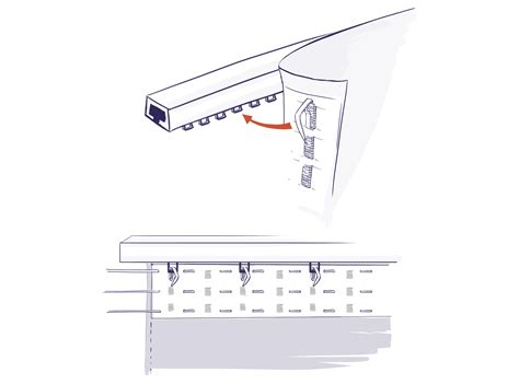 Shower Curtain Rail For Corner Bath how to attach curtain hooks track nrtradiant com