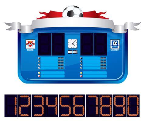 scoreboard templates baseball scoreboard clip clipart best