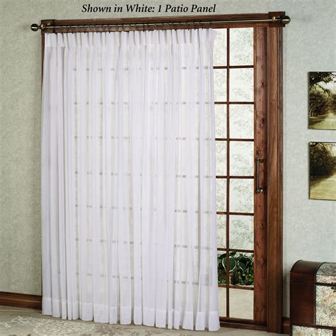 Patio Door Curtain Ideas Homesfeed Patio Door Curtains