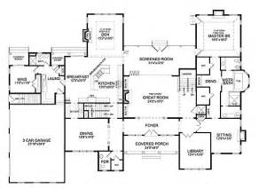 6 bedroom house floor plans southton i house plan 7023 6 bedrooms and 6 5 baths