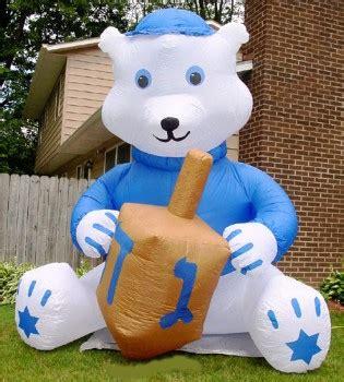 inflatable hanukkah decorations jumbo hanukkah 11 foot