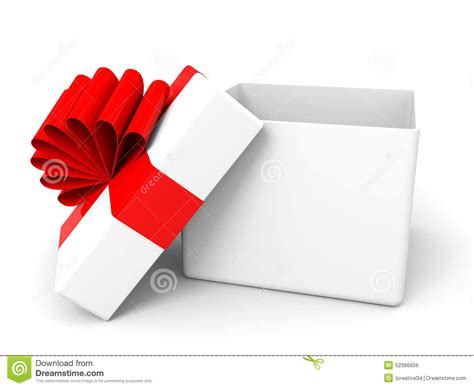open christmas gift box stock illustration image of