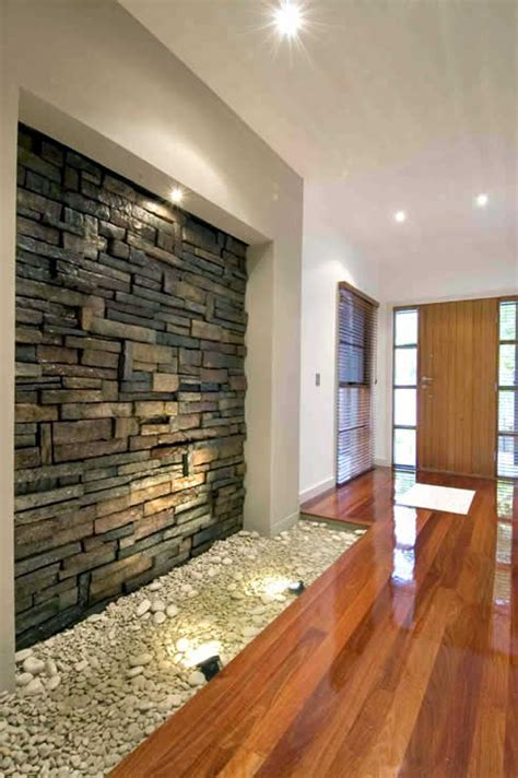 Interior stone walls with CraftStone from Austech External