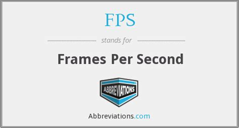 frames per second fps frames per second