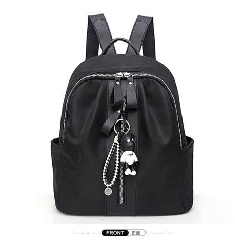 Tas Ransel Fashion Wanita jual b3363 black tas ransel fashion wanita grosirimpor