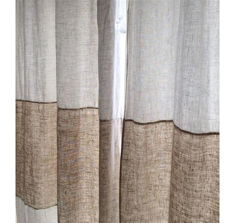 Striped Linen Curtains Striped Linen Curtains Linen Premium 100 Linen Curtains