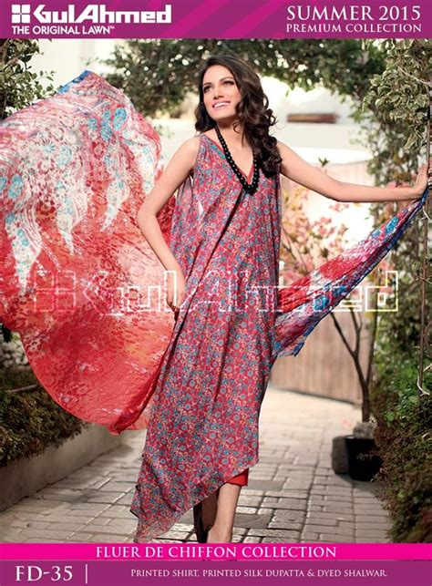 gul ahmed premium embroidered lawn 2015 16 fashion is passion gul ahmed embroidered summer lawn prints collection 2015
