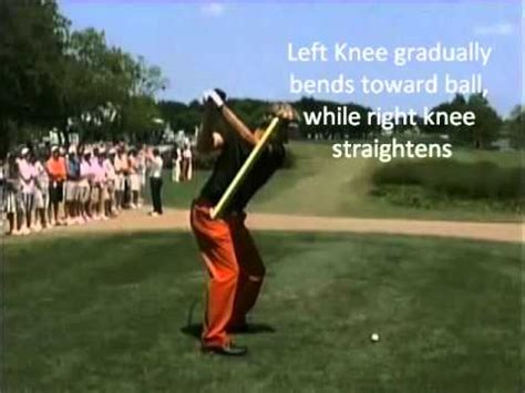 legs in the golf swing foot and leg action in the golf swing youtube