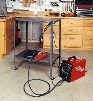 how to build a welding table metal welding table