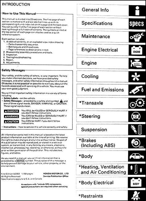 free auto repair manuals 2003 honda civic si parental controls 2002 2003 honda civic si hatchback repair shop manual original