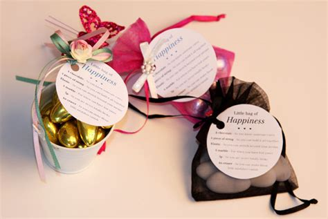 diy wedding little bag of happiness favours confetti co uk