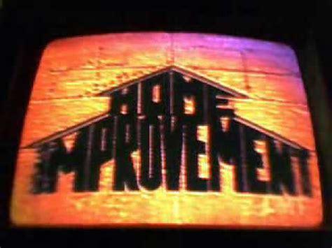 home improvement 1999 opening version vidoemo